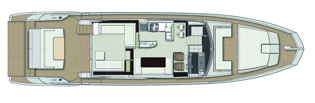 azimut 66 maindeck_layout